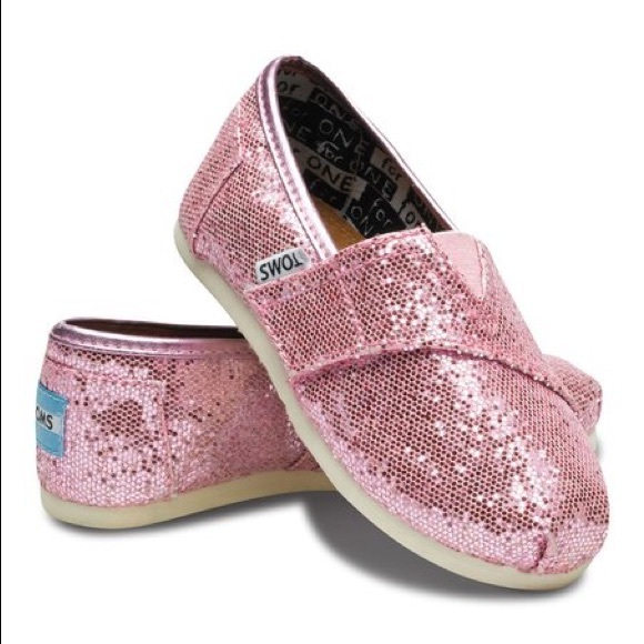 353f4d4e3fe Toms Pink Glitter Classic T5. M 5a95fe4361ca10d0f719f0c0